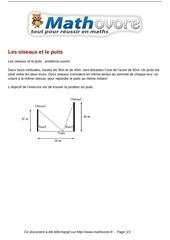Fichier PDF probleme les oiseaux et le puits maths 14