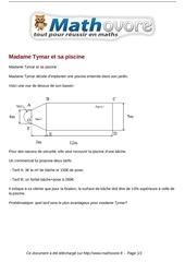 Fichier PDF probleme madame tymar et sa piscine maths 304