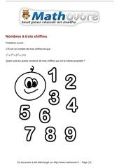 Fichier PDF probleme nombres a trois chiffres maths 129