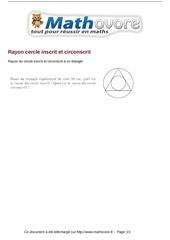 Fichier PDF probleme rayon cercle inscrit et circonscrit maths 67