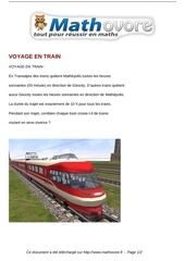 Fichier PDF probleme voyage en train maths 303