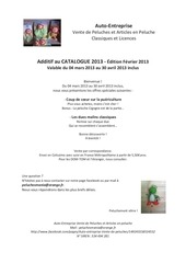 ae catalogue peluches facebook additif fevrier 2013