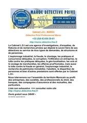 Fichier PDF detective maroc tel 0033683383961