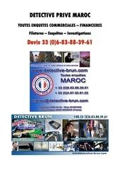 detective maroc