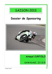 dossier sponsoring arnaud