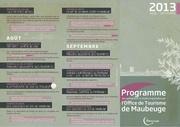 programme ot 2013