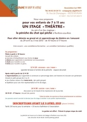 bulletin inscription stage p ques