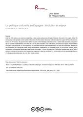 Fichier PDF politique culturelle espagne
