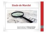 Fichier PDF presentation etude de marche