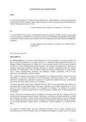 Fichier PDF convention