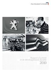 rapport annuel psa 2010