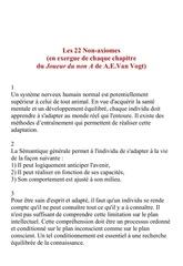 22 non axiomes 2
