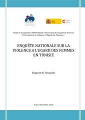 enquete violence femmes tunisie rapport 2010