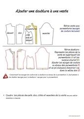 Fichier PDF ajouter une doublure a une veste