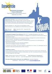 fiche action volontariat ecologique franco allemand 2013