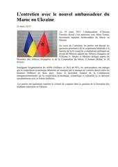 Fichier PDF l entretien avec le nouvel ambassadeur du maroc en ukraine