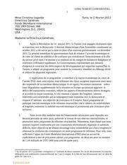 tunisie projet de correspondance strictement confidentiel destine au fmi