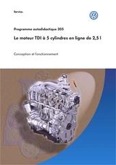 le moteur tdi a 5 cylindres en ligne