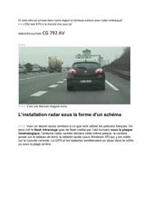 Fichier PDF et voila elle est arrivee dans notre region la fameuse voiture avec radar embarque