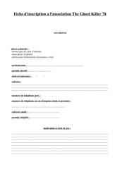 Fichier PDF fiche inscription majeur