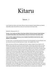 kitaru saison 1 pdf 1