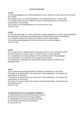 qcm de biophysique