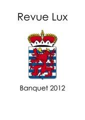 revue finale finale pour banquet 2012