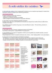 le vide atelier explique aux creatives membres pdf