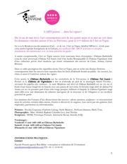 art en vigne communique 2013