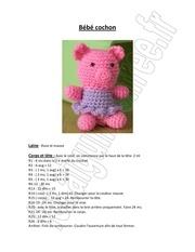 bebe cochon rose