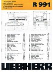 Fichier PDF liebherr r991