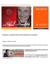 01 paul furlan newsletter avril 2013