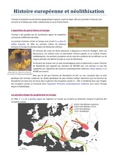 lignee europeenne et neolithisation