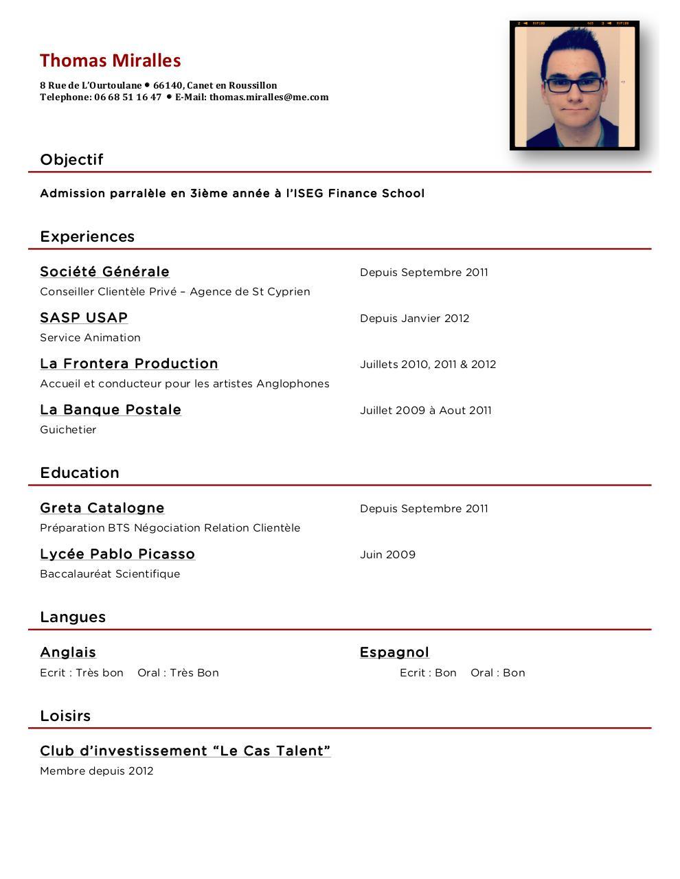 cv 2013 docx par thomas miralles - cv 2013 pdf