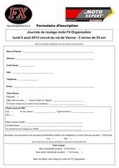 Fichier PDF formulaire inscription fx02013