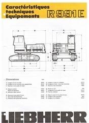 Fichier PDF liebherr r991e
