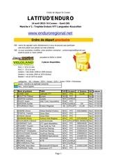 ordre de de part provisoire st comes 2013 1