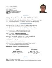 Fichier PDF cv fleurence orelien