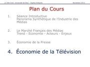 economie de la television francaise
