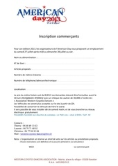 inscriptions commercants