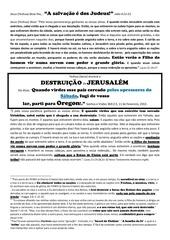 portuguese 10 jesus anuncia a destruicao de jerusalem