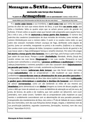portuguese 5 mensagem da sexta trombeta armagedon