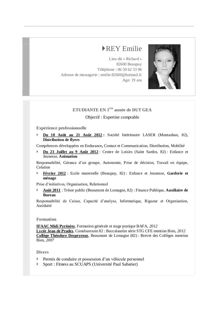 rey emilie cv pdf par rey emilie