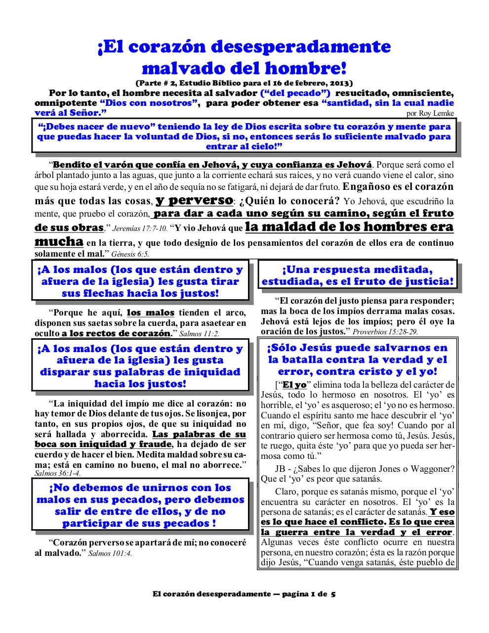 Aperçu du document Spanish 2B Desperately wicked heart part 2.pdf - page 1/5