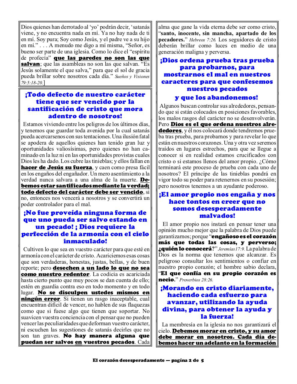 Aperçu du document Spanish 2B Desperately wicked heart part 2.pdf - page 2/5