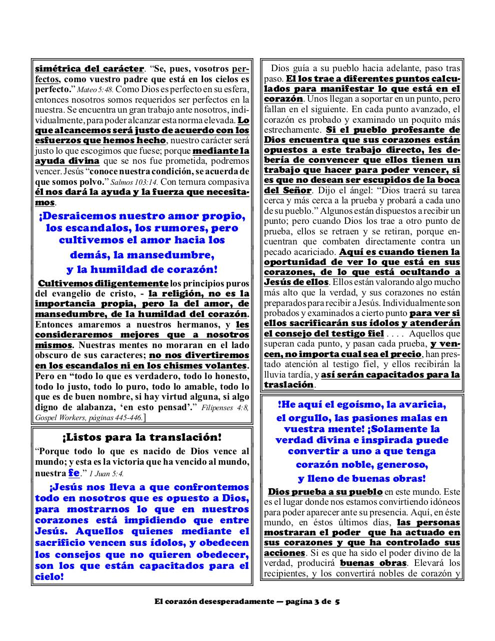 Aperçu du document Spanish 2B Desperately wicked heart part 2.pdf - page 3/5
