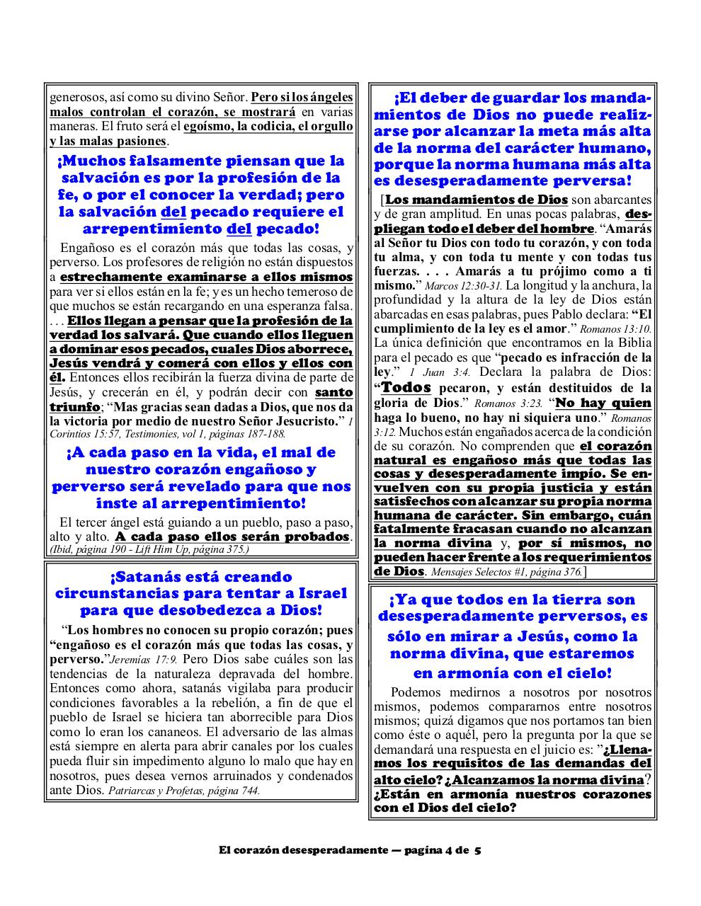 Aperçu du document Spanish 2B Desperately wicked heart part 2.pdf - page 4/5