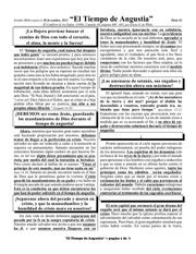 spanish 3b tiempo de angustia part 2