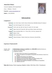 Fichier PDF cv ahmed ben othmen informaticien