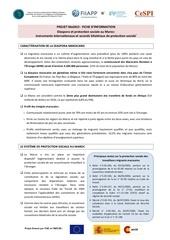 diaspora et protection sociale au maroc